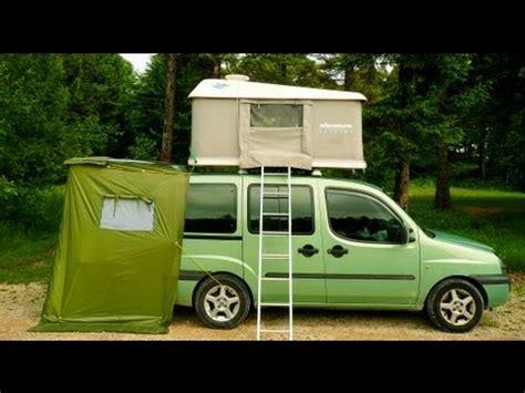 Eezi Awn Roof Top Tent Doblo Camping Car Vol 1 Loul Vidoemo Emotional