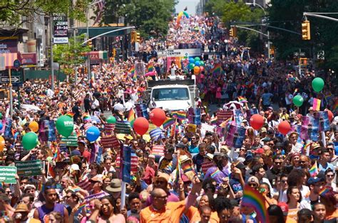 gay section of nyc 2016 new york city pride parade