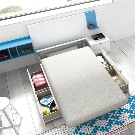 cama compacta juvenil cajones gu 237 a para elegir el dormitorio juvenil