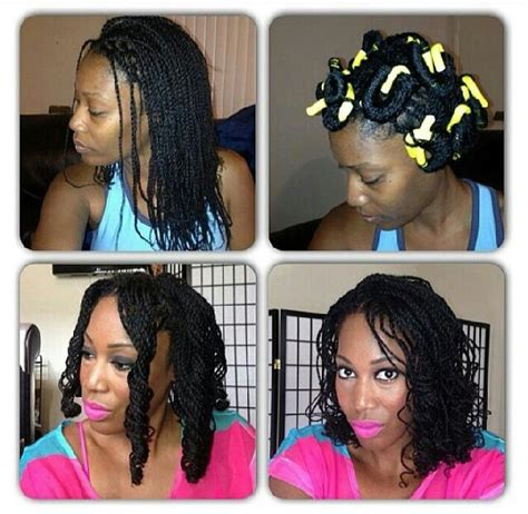double stranded rods hairstyle twists with rods hairstyles flat twist natural hair