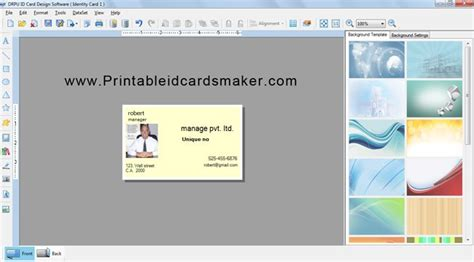 printable id cards maker page 38 of application software business application