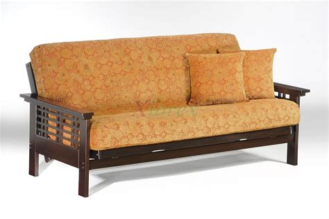 Wooden Futon Frames by And Day Vancouver Futon Wood Futon Frame Lattice Arms Xiorex