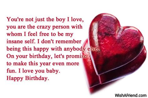 Birthday Wishes For Boyfriend Page 3