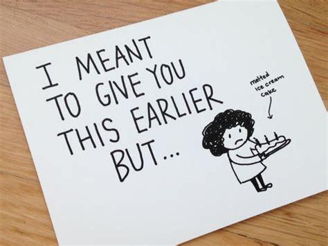 card ideas for friends birthday belated birthday card humorous late birthday card