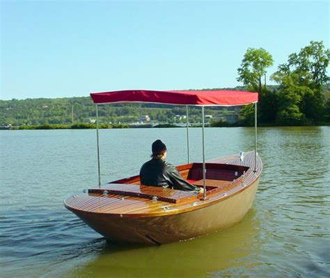 boat building plans for an electric launch building a fiberglass boat at home wooden boat electric