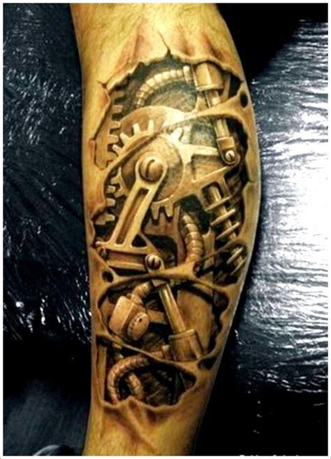 Tattoo Design Mechanical | 35 bio mechanical tattoo designs