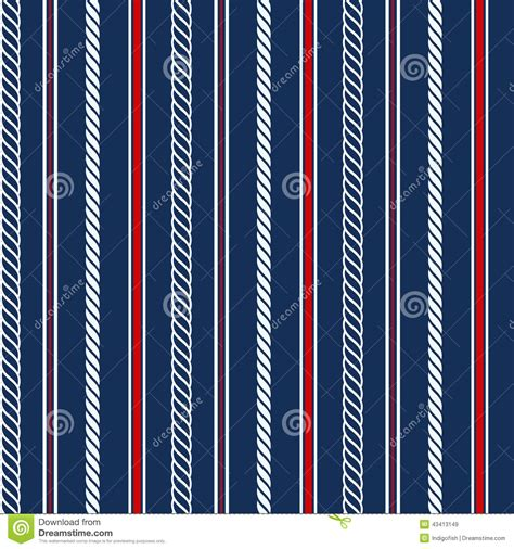 nautical pattern vector seamless pattern with nautical elements stock vector