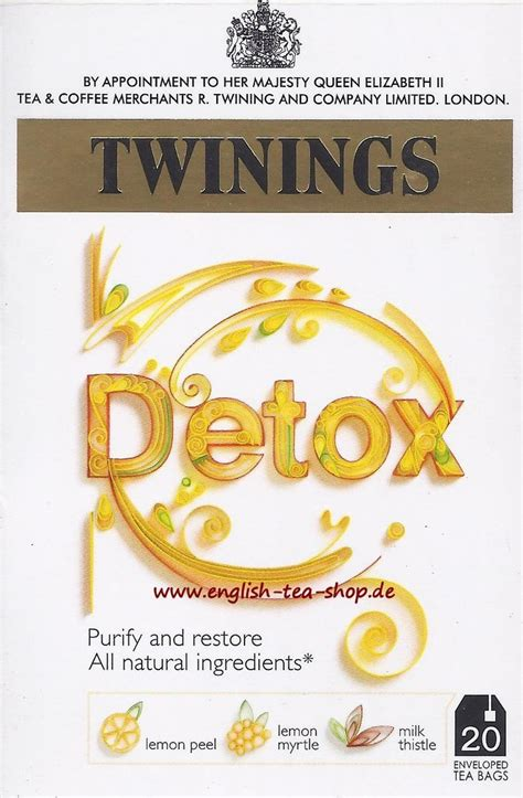 Twinings Detox Tea Ingredients by Twinings Benefit Blend Detox 20 Tea Bags