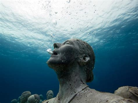 420 Square Feet In Meters by An Underwater Museum Of Statues Cancun Mexico I Like To Waste My Time