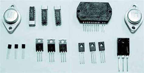 transistor adalah komponen elektronika yang berfungsi sebagai ilmu
