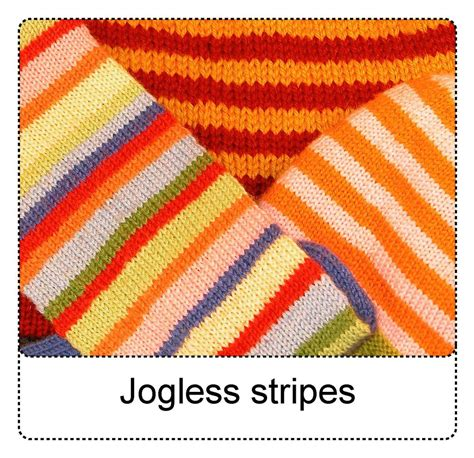 knitting stripes in the techknitting jogless stripes a new way