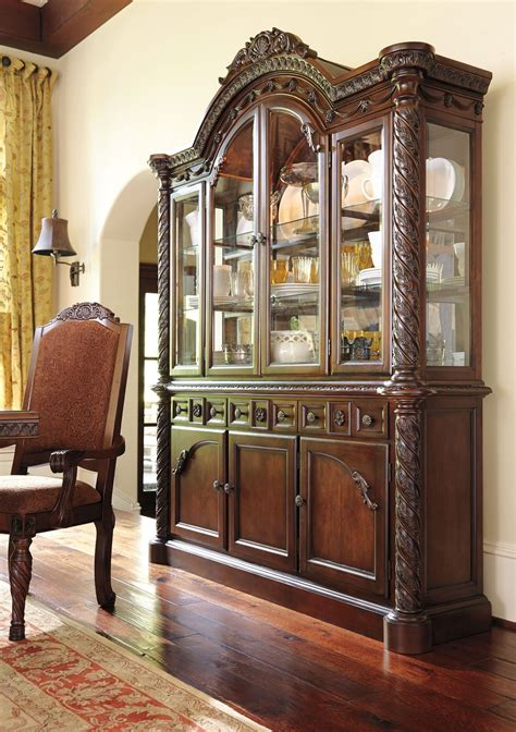 ashley furniture millennium china cabinet millennium north shore dining room china cabinet by ashley