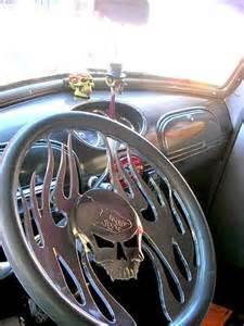 Truck Wheels With Skulls Skull Steering Wheel Things