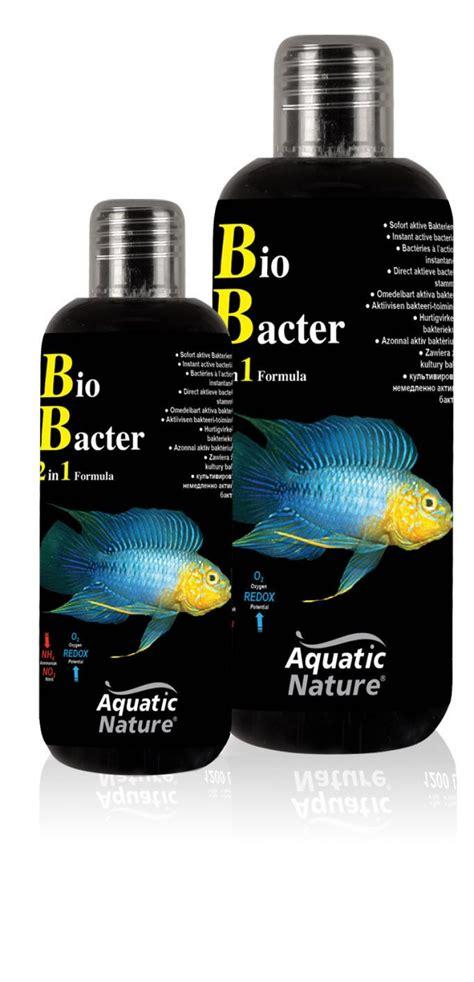 Lu Tl Aquarium aquatic nature bio bacter 2 in 1 formula 150ml bact 233 ries