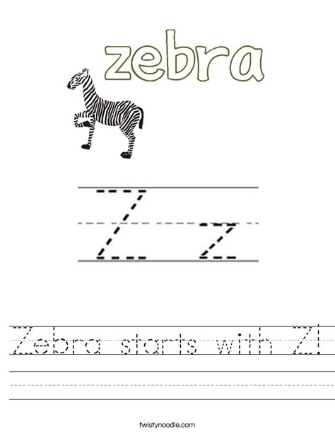 4 Letter Words Zebra z worksheets worksheets for school roostanama