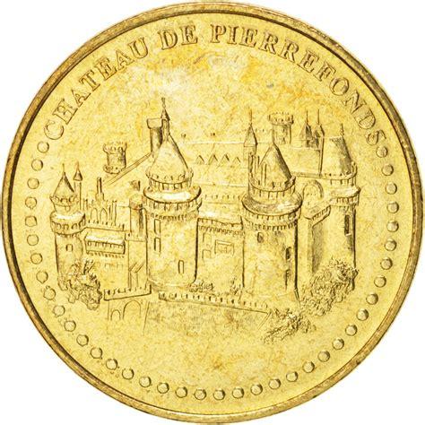 comptoir de monnaies 92967 jeton ch 226 teau de pierrefonds monnaie de