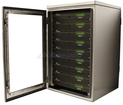 Rack Mounted Server by Waterproof Rack Mount Cabinet Nema 4x Protection For