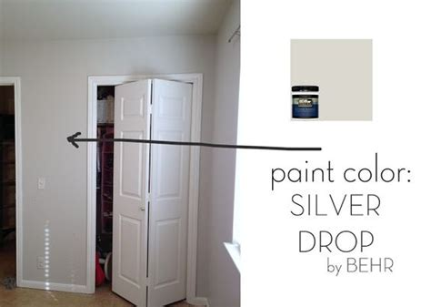 silver paint colors walls silver drop behr favorite paint color planned for the