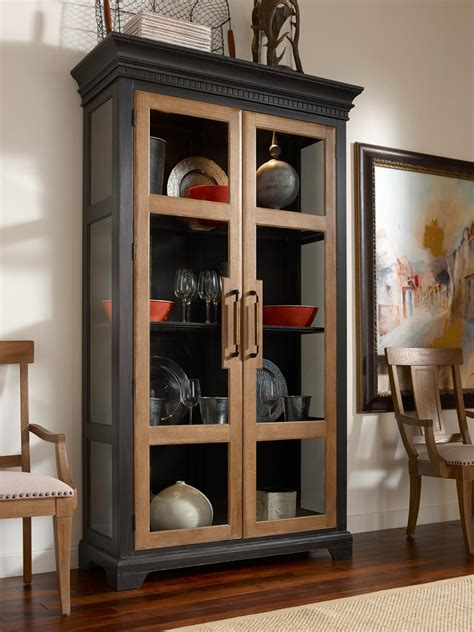 China Kitchen York Pa by Transitional China Cabinet With Two Tone Finish And Touch