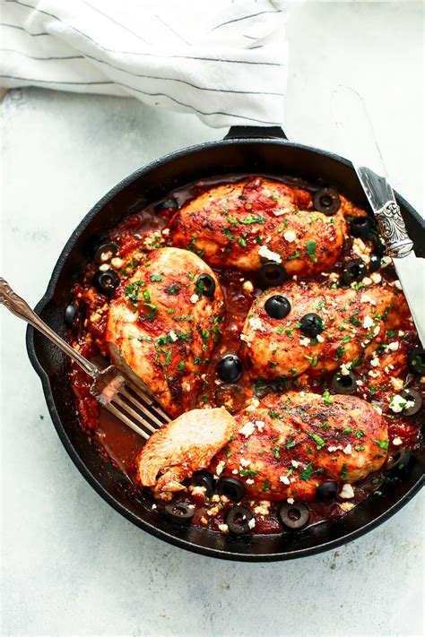 Kitchen Chicken Sorrentino Recipe by Mediterranean Chicken Skillet Recipe Primavera Kitchen