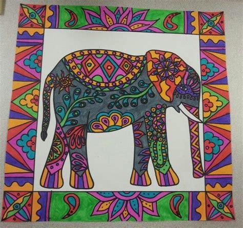 ideas for ks2 art lessons elephant art fourth grade art lessons pinterest
