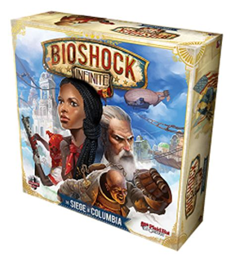 Promo Bioshock Infinite The Siege Of Columbia Board great gifts for gamer the project