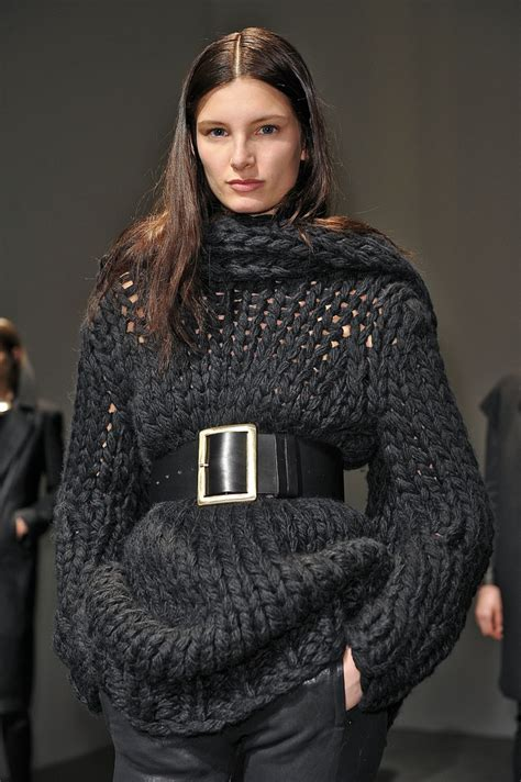 knitwear design meaning chunky knit gets some major definition knitwear