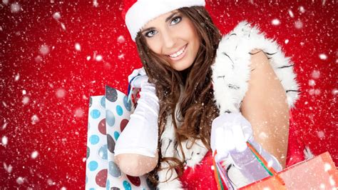 wallpaper christmas babe babe christmas women hd wallpapers