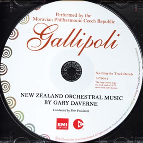 theme music gallipoli gary daverne nzom001 gallipoli