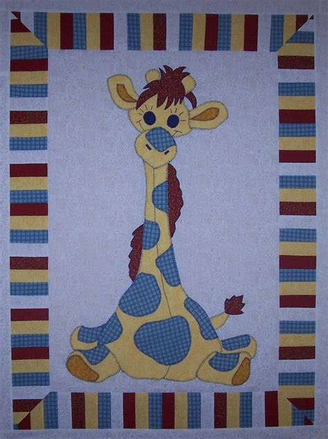 Giraffe Quilt Patterns by Laugh Giraffe Colchas Y Edredones