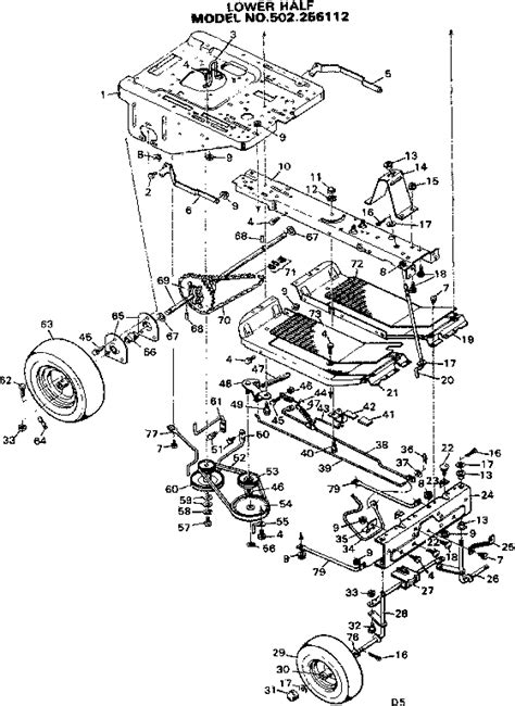 sears lawn tractor parts diagram craftsman mower wiring diagram 37 wiring diagram