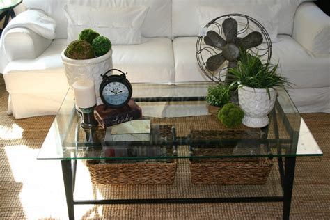 glass coffee table decorating ideas living room coffee table decorating ideas to liven up