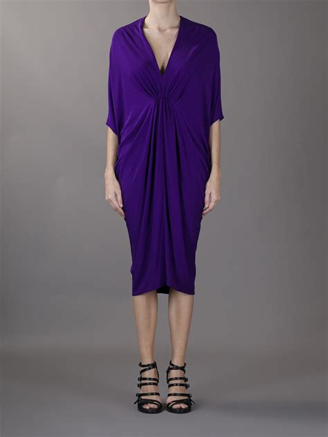 lanvin draped dress lanvin women s draped dress dawoob women