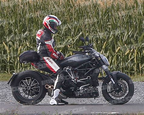 Motorrad News August 2018 by New Belt Driven Ducati Diavel Spotted