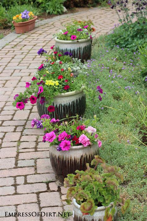 Flower Planters Ideas by 21 Gorgeous Flower Planter Ideas Empress Of Dirt