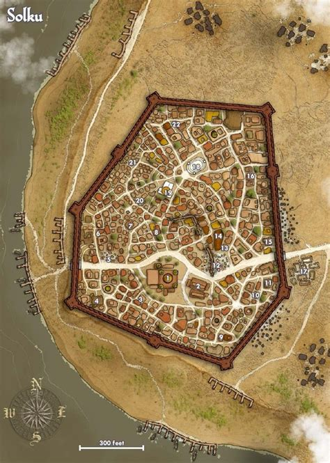 pathfinder golarion map map of the city of solku pathfinder golarion m city