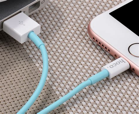 Hoco Upl12 Jelly Coat Lightning Braided Cable 1 2m For Iphone Baru hoco x8 lightning charging cable 1m for iphone blue