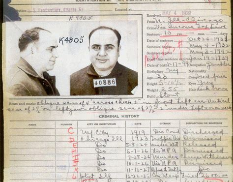 Sf Arrest Records This Letter Tells What Al Capone Was Up To In Alcatraz Smart News Smithsonian