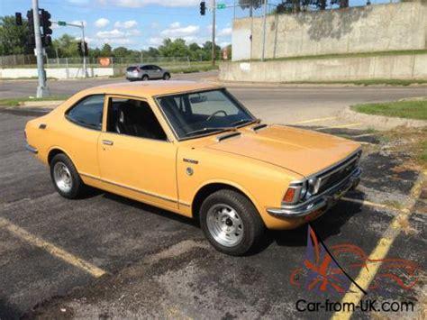 1972 Toyota Corolla For Sale 1972 Toyota Corolla