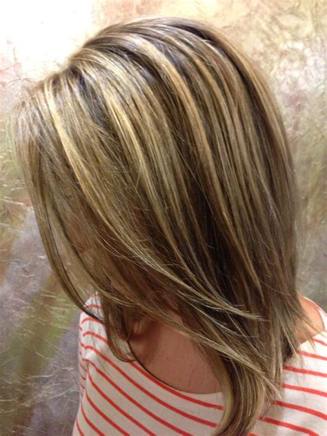 how to section hair for highlights and lowlights brown hair lowlights highlights hair pinterest
