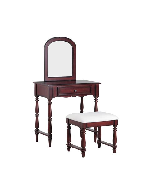 Powell Vanity by L Powell Chadwick Vanity With Stool