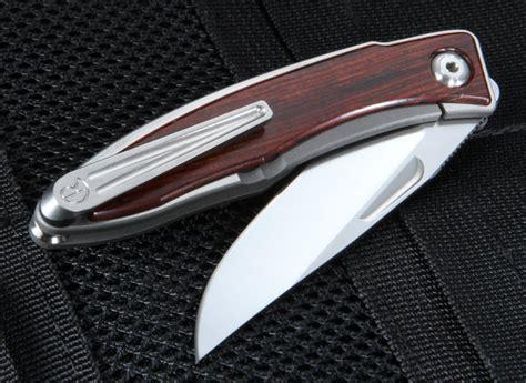 mnandi cocobolo chris reeve mnandi cocobolo wood folding knife