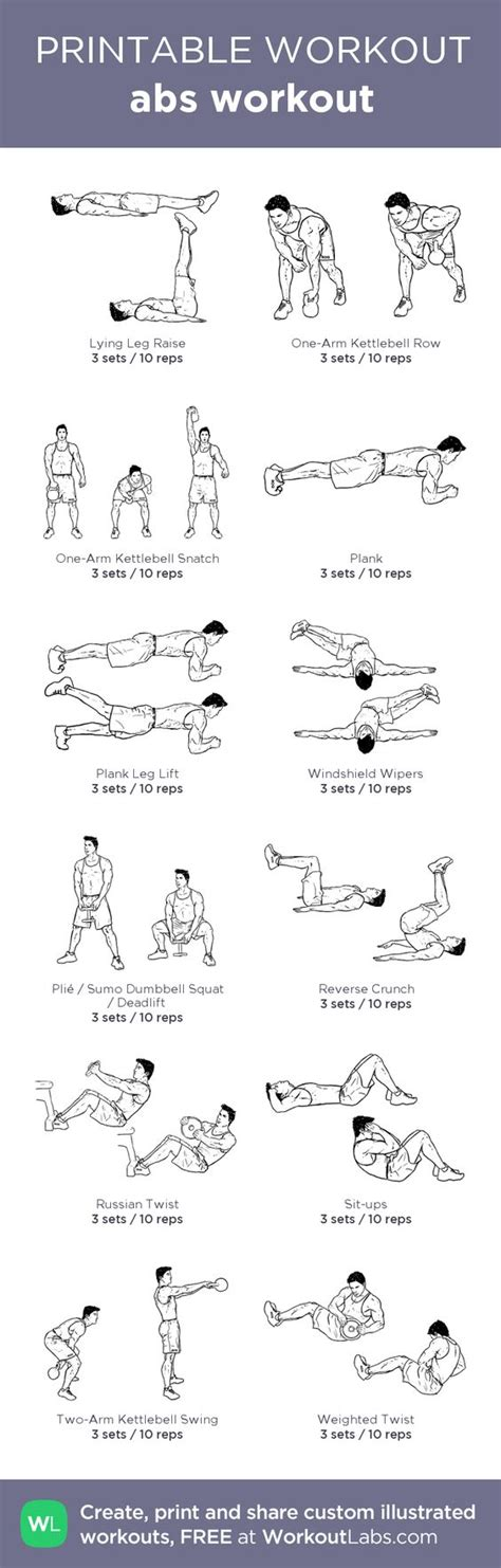 abs workout my custom printable workout by workoutlabs workoutlabs customworkout diet