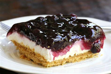 Sweet Treats Banana Cheesecake Blueberry Strawberry By Monkey Business 1 blueberry dessert