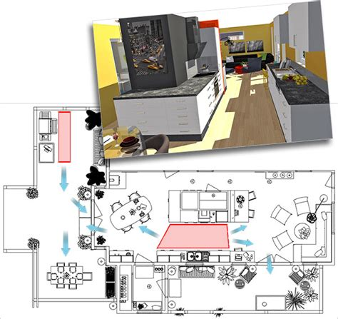 perfect kitchen layout perfect kitchen layouts homebyme