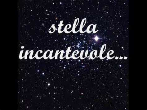 incantevole testo alessandra amoroso stella incantevole