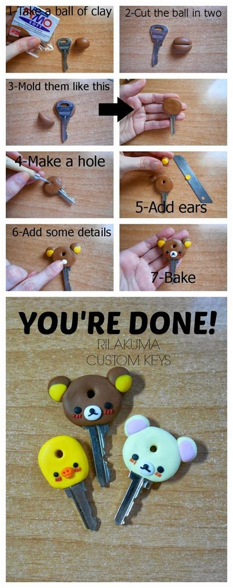 Custom Rillakuma rilakkuma teclas and arcilla de pol 237 mero on