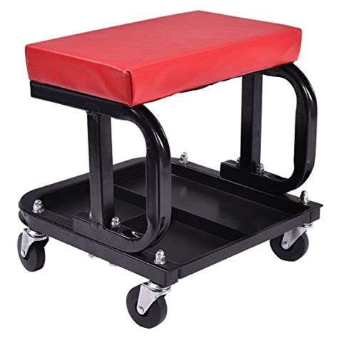 Rolling Work Stool Automotive by Rolling Creeper Seat Mechanic Stool Chair Repair Tools