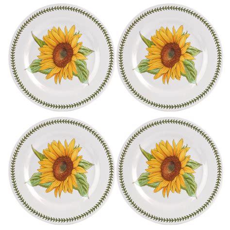 Botanic Garden Plates Portmeirion Botanic Garden Melamine Set Of 4 Dinner Plates Portmeirion Usa