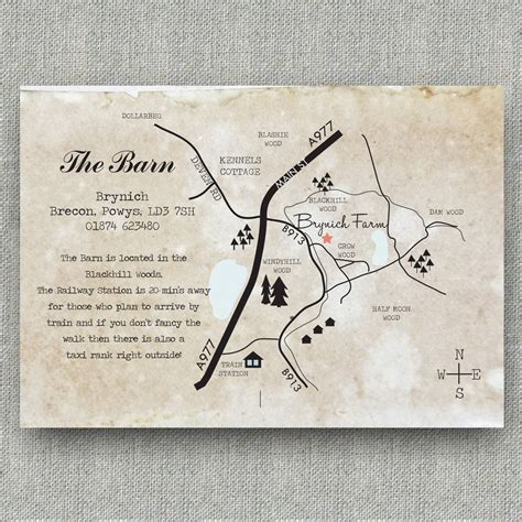 Wedding Invitation Map by Map Wedding Invitations By Paper And Inc